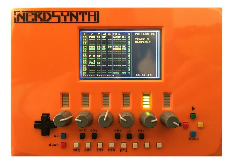 Nerdsynth 2nd Prototype